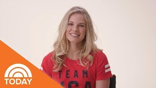 What Gold Medalist Jessie Diggins Would Tell Her Younger Self | TODAY