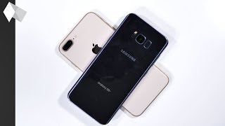 iPhone 8 Plus vs. Samsung Galaxy S8+ SPEED TEST!!!