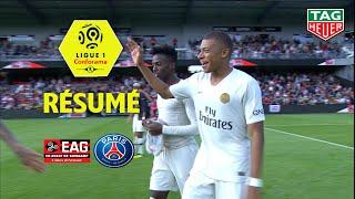 EA Guingamp - Paris Saint-Germain ( 1-3 ) - Résumé - (EAG - PARIS) / 2018-19