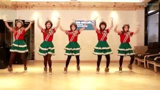 CRAYON POP - Lonely Christmas - mirrored dance practice video - 크레용팝 꾸리스마스 안무영상
