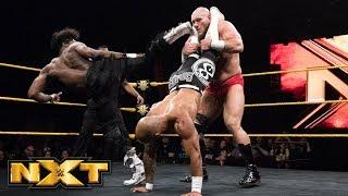 Ricochet & Velveteen Dream vs. Lars Sullivan - Handicap Match: WWE NXT, May 23, 2018
