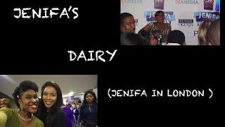 Vlog 3: Jenifa in London Movie Premiere| Jenifa's Dairy|