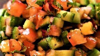 How To Make Persian Salad Shirazi
