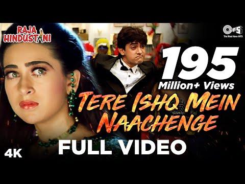 Tere Ishq Mein Naachenge - Video Song | Raja Hindustani | Aamir Khan & Karisma Kapoor | Kumar Sanu