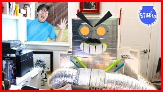 My Pet Robot Kicked Me Out of My Office!!! Now, He