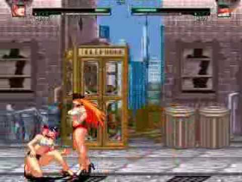MUGEN Poison me VS Roxy