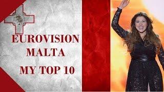 Malta in Eurovision - My Top 10 [2000 - 2016]