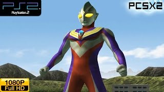 Ultraman Fighting Evolution 3 - PS2 Gameplay 1080p (PCSX2)