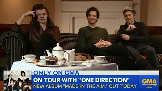 One Direction Talks New Album, Hotel Experiences