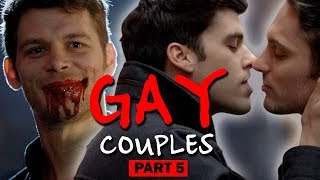 Top GAY COUPLES Movies and TV series | PART 5