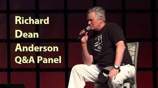 Richard Dean Anderson HD Phoenix Comicon 2014 MacGyver Stargate Panel