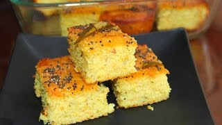 Classic Handvo Video Recipe | Steamed Rice Lentils Cake | Bhavna's Kitchen