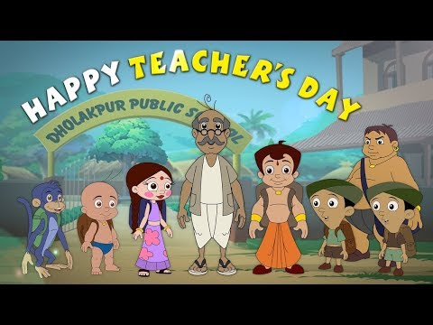 Chhota Bheem and Friends - Teacher's Day Special Video.