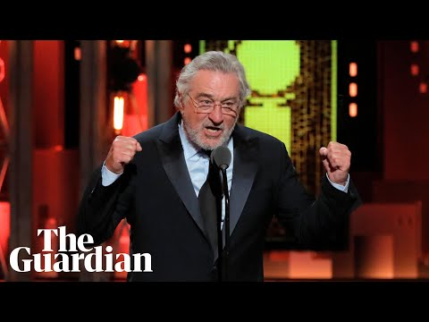 Xxx Mp4 Robert De Niro S Fuck Trump Speech At Tony Awards 3gp Sex