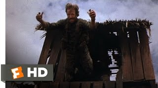 Missing in Action (1/10) Movie CLIP - Double Grenade Jump (1984) HD