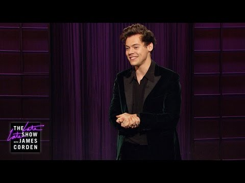Harry Styles Late Late Show Monologue