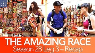 The Amazing Race -  Bros Being Jocks S28 Ep3