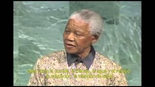 Nelson Mandela en las Naciones Unidas