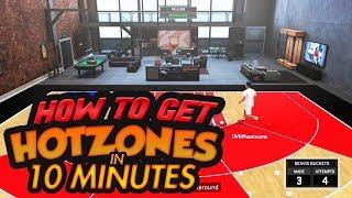 HOW TO DO THE NBA2K18 HOTSPOT GLITCH *EASY TUORIAL* - NBA2K18 HOTZONES GLITCH - NBA2K18 MYPLAYER