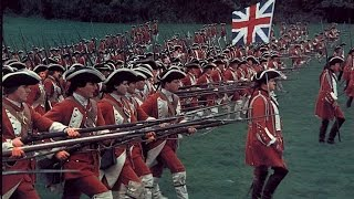 British grenadiers march — British line infantry attack