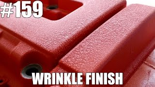 How to wrinkle paint your valve cover!