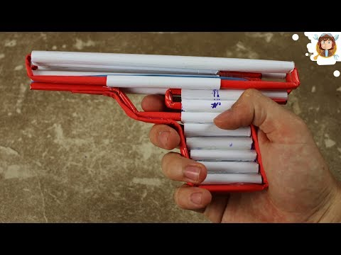 How to Make a Simple Airsoft Gun Paper Pistol