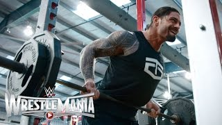Roman Reigns' WrestleMania workout