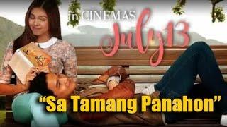ALDub theme song  - Sa tamang panahon by Famela Ricerra (Lyrics)