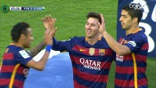 ملخص مبارة برشلونة و غرناطة 4-0 الدوري الإسباني  9-1-2016 HD