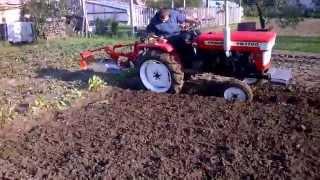 YANMAR YM 1700 őszi kert szántás