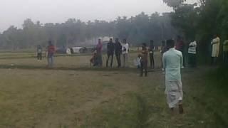 cricket match.