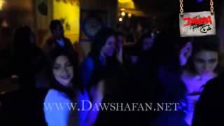 الممثلة انجي خطاب تتفوق علي صافيناز بالرقص في حفل خطوبتها