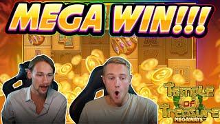 MEGA WIN!!! Temple of Treasure BIG WIN - Casino game from CasinoDaddy Live Stream