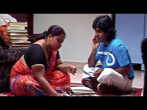 Arshad Comedy With Tution Teacher - Saa Boo Thiri Movie Scenes