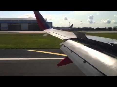 Southwest Airlines Landing in Tampa