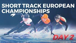 ISU Short Track Speed Skating | European Championships 2019 (Day 2)