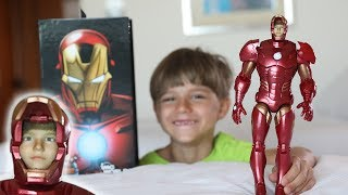 What? Iron Man Figure Toy with My Face !