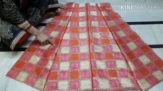 how to make beautiful neck design gown cutting & stitching step by step in hindi
