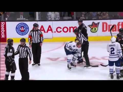 Drew Doughty loses his mind on Leo Komarov