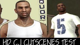 GTA SA: HD CJ CUTSCENES TEST