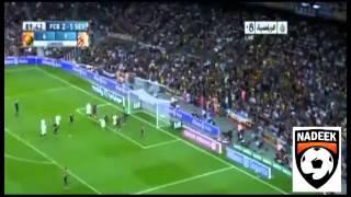اهداف مباراة برشلونة واشبيلية 3-2 [14_9_2013] [الدوري الاسباني 2014 ] ناديك