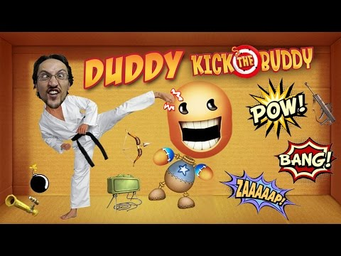 Duddy Kicks the Buddy! ... and He Talks Junk?? (Face Cam All Items Tried Gameplay)