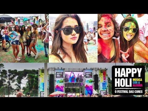 Vlog: Happy Holi | Festival das cores