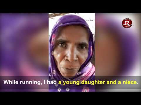 Rohingya Girls RAPED and thrown into the Blazing fire by Burmese regime