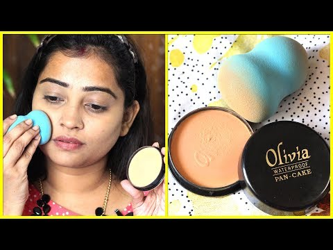 Xxx Mp4 ONLY OLIVIA PAN CAKE Makeup On Face No Foundation No Concealer HOW TO USE REVIEW 3gp Sex