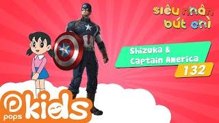 Siêu Nhân Bút Chì Tập 132 - Shizuka Trở Thành Bạn Của Captain America