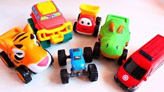 Children LEARN COLORS with Toy Cars & Finger Nursery Rhymes | Play and Learn with Toys