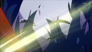 Kill la Kill 24 Satsuki catches Ryuko