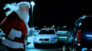Running Santa Claus -Target Funny commercial