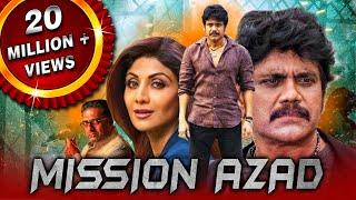 Mission Azad (Azad) Telugu Hindi Dubbed Movie | Nagarjuna, Shilpa Shetty, Soundarya